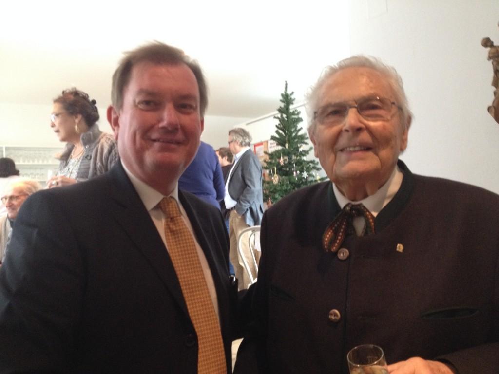 90. Geburtstag Johannes Rom - 8.12.2014